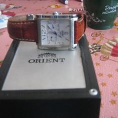 Ceas orient - Ceas barbatesc Orient, Elegant, Mecanic-Automatic, Piele, Rezistent la apa, Analog