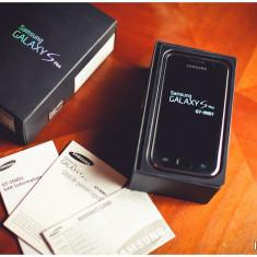 Samsung Galaxy S Plus I9001 - CA NOU, STARE IMPECABILA, GARANTIE IN ALB! - Telefon mobil Samsung Galaxy S Plus, Negru, Neblocat