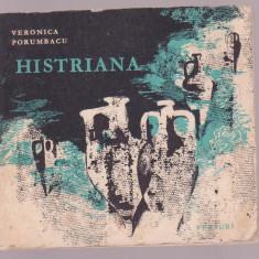 Veronica Porumbacu - Histriana - Carte poezie