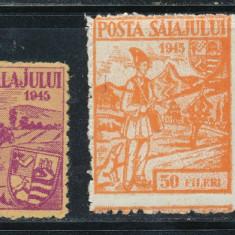RFL 1945 ROMANIA Ardealul de Nord Posta Salajului emisiunea a II-a neuzata FB - Timbre Romania, Nestampilat