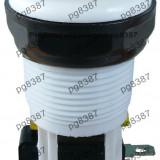 Push buton fara retinere, galben, 1,5A, 250V, 28,3x62,8mm - 124762
