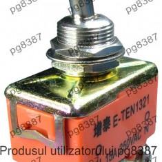 Comutator dublu, ON-ON, 15A, 250V, 58x33x19mm - 125581