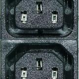 Priza retea x4, 10A/250V - 125303 - Priza si intrerupator
