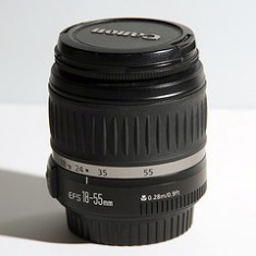 Obiectiv CANON EF-S 18-55mm f/3.5-5.6 II si EF 75-300mm f/4-5.6 III Non-USM - Obiectiv DSLR Canon, Canon - EF/EF-S
