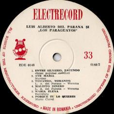 Luis Alberto Del Parana Si Los Paraguayos - In Romania (IV) / 4 (Vinyl) - Muzica Latino electrecord, VINIL