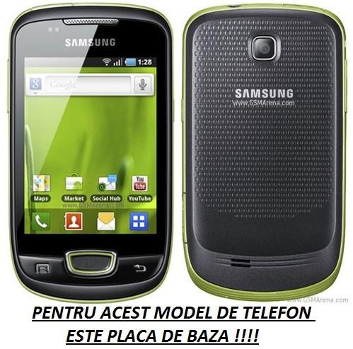 Placa de baza FUNCTIONALA Samsung Galaxy Mini S5570 / Samsung Galaxy Pop Originala foto mare