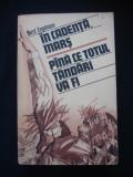 BERNT ENGELMANN - IN CADENTA MARS * PINA CE TOTUL TANDARI VA FI * CUM AM TRAIT IN EPOCA NAZISTA 1933-1945
