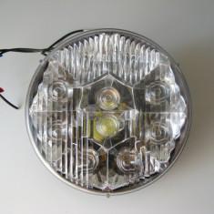 Far cu 10 LED 80w productie Americana 24 volti - Led auto