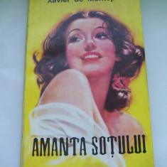 AMANTA SOTULUI XAVIER DE MONTEPIN - Roman, Anul publicarii: 1993