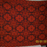 COVOR / COVERTURA / PLED din lana traditional autentic taranesc, tesut manual la razboi, rosu-portocaliu, Ardeal/ Transilvania-Alba, 1950, NOU - Covor vechi