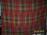 covor din lana traditional autentic  taranesc, tesut manual la razboi, cu model  specific, cu ciucuri,Ardeal/ Transilvania-Alba, 110 ani vechime!!!