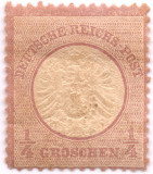 1872 NEUZAT STEMA embosata 0.25 g. purple Mi 16 = 90 EUR Yt 13 = 100 eur