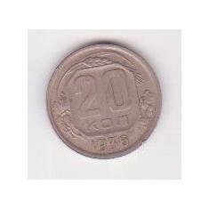 Moneda Rusia - 20 Kop 1936, Europa