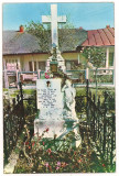 carte postala(ilustrata)-MANASTIREA VARATIC-Mormantul Veronicai Micle