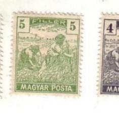 Timbre-UNGARIA 1919, Europa, Altele