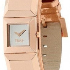 D&G Dance DW0271 Gold Rose/Pink Time Watch - Ceas dama Dolce & Gabbana, Elegant, Piele, Analog