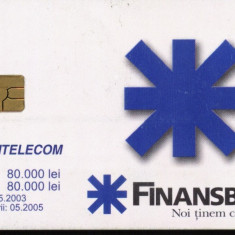 Cartela telefonica romtelecom FinansBank, Rom 195