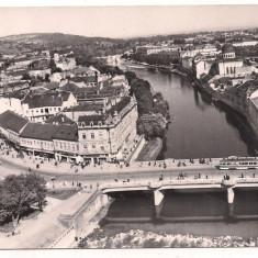 Carte postala- ORADEA-Pe malul Crisului - Carte Postala Crisana dupa 1918, Circulata, Fotografie