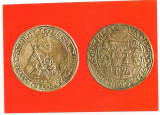 carte postala(ilustrata)-ARHEOLOGIE-Taler din argint,emis de domnul Moldovei bDespot Voda in 1563