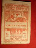 D.Anghel si St.O.Iosif - Carmen Saeculare -Prima Ed. 1909, St. O. Iosif
