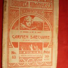D.Anghel si St.O.Iosif - Carmen Saeculare -Prima Ed. 1909