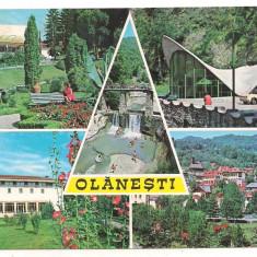 carte postala- OLANESTI-colaj##