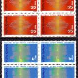 Romania L762.4x Colab.Cult.Econom.Europ.1971 bloc 4 - Timbre Romania