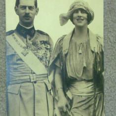 fotografie originala carol al 2-lea si regina elena