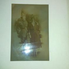 fotografie originala regele carol al 2-lea si regina elena