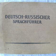 """""""DEUTSCH - RUSSISCHER SPRACHFUHRER"""", 1962. Nou, Alta editura"""