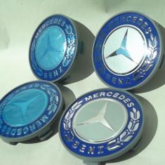 capace roti mercedes-benz - jantele de aliaj fundal albastru