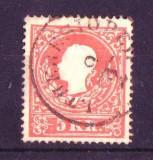 1858 austria Mi. 13 tip 1 stampilat