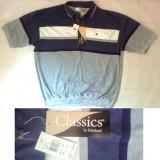 Tricou barbatesc Palmland Navy Classics masura 48-50(XL) NOU, Maneca scurta