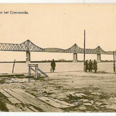 2209 - Dobrogea, CERNAVODA, bridge - old postcard - unused - Carte Postala Dobrogea 1904-1918, Necirculata, Printata