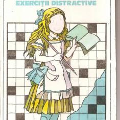 (C1411) ENGLEZA PRIN EXERCITII DISTRACTIVE DE ION APOSTOL, EDITURA STIINTIFICA SI ENCICLOPEDICA, BUCURESTI, 1980 - Curs Limba Engleza
