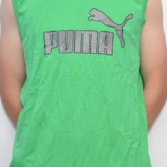 Maiou PUMA 812272, ORIGINAL, bumbac, verde - Maiou barbati Puma, Marime: S, M