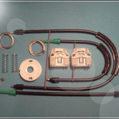 Kit reparatie macara geam actionat electric Skoda Fabia(fab.'99-'07) stanga fata