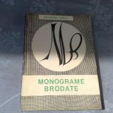 Monograme brodate - Ecaterina Tomida - 1969 - Carte Arta populara