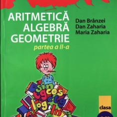 MATE 2000 7/8 - ARITMETICA, ALGEBRA, GEOMETRIE PARTEA A II A CLASA A VI A de DAN BRANZEI ED. PARALELA 45 - Manual scolar paralela 45, Clasa 6