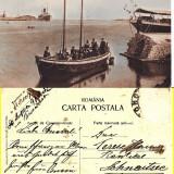 Constanta- Portul-  Barca de salvare