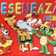 DESENEAZA ANIMALE ED. TEORA - Carte poezie copii