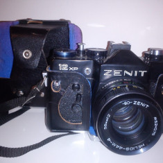 ZENIT 12 XP SUPERB CU OBIECTIV HELIOS-44M-4 - Aparat Foto cu Film Zenit