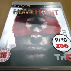 Joc Homefront, PS3, original, 19.99 lei(gamestore)! Alte sute de jocuri! - Jocuri PS3 Thq, Shooting, 18+, Single player