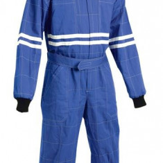 COMBINEZON PROTECTIE MODEL SPORT AUTO KARTING, Culoare: Albastru, Marime: 54