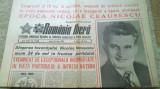 romania libera 24 iulie 1989-24 ani de cand ceausescu este secretar general PCR