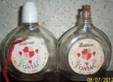 "VINTAGE sticluta coniac ""ZAREA"" 200ml, 1960, MARCATA"