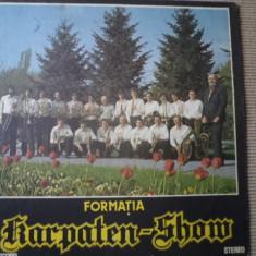 Karpaten Show blasmusic disc vinyl lp muzica populara germana valsuri si polci - Muzica Folk electrecord, VINIL