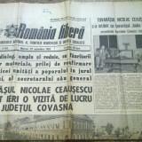Ziarul romania libera 29 septembrie 1982 (vizita lui ceausescu in jud. covasna )