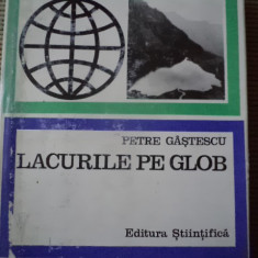 Lacurile pe glob Petre Gastescu carte geografie stiinta natura ilustrata foto