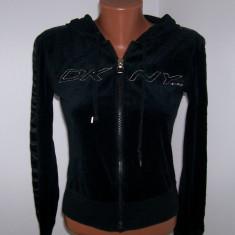 Hanorac dama Donna Karan DKNY marime S USA, Culoare: Negru, Bumbac
